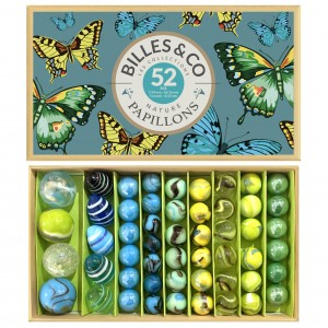 Coffret de billes papillons Billes and Co