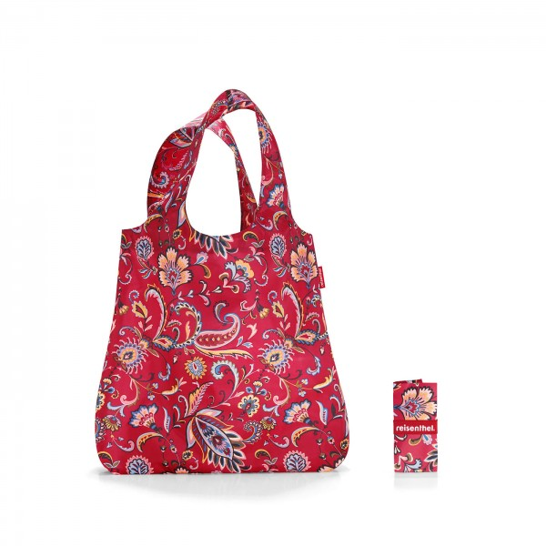 Mini maxi shopper paisley ruby Reisenthel