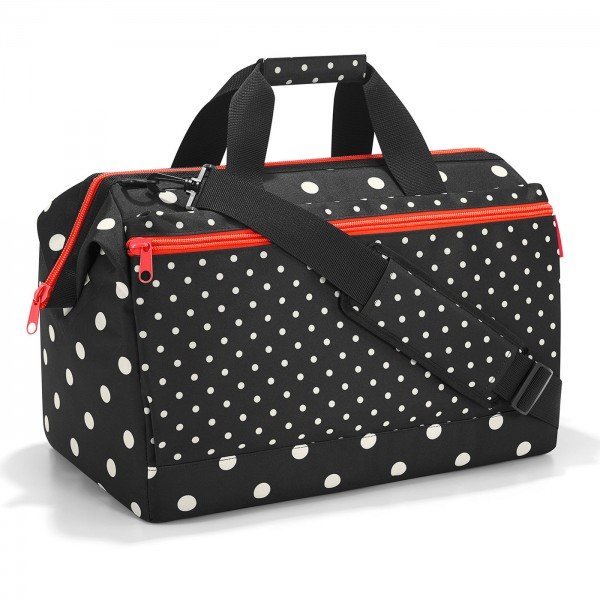 Sac de voyage allrounder L pocket mixed dots Reisenthel