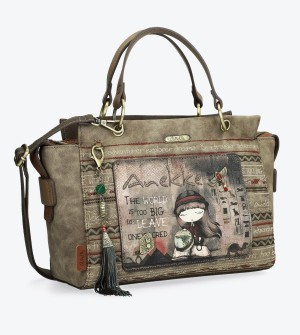 Crossbody bag with handles Egypt Anekke