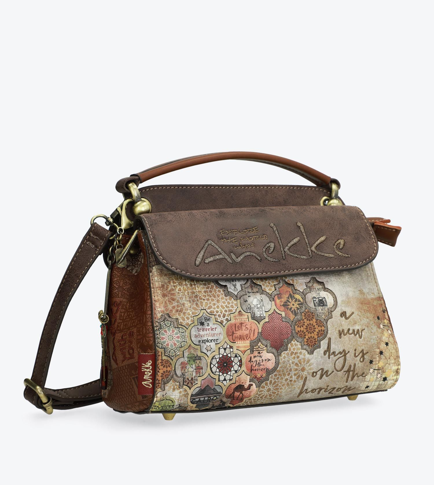 Double compartment hand bag Egypt Anekke