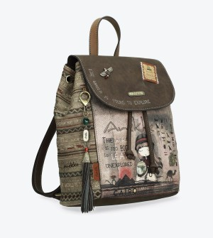 Cool backpack earthy tones Egypt Anekke
