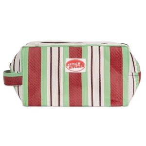 Trousse de toilette stripes green Kitsch Kitchen