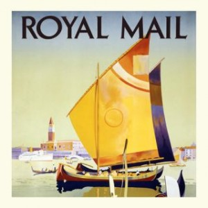 Carte postale royal mail Gwenaëlle Trolez