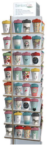 Collection bamboo cup