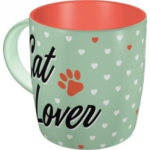 Mug en céramique cat lover Nostalgic Art