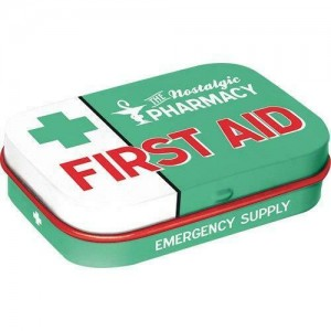 Mint box first aid green Nostalgic Art