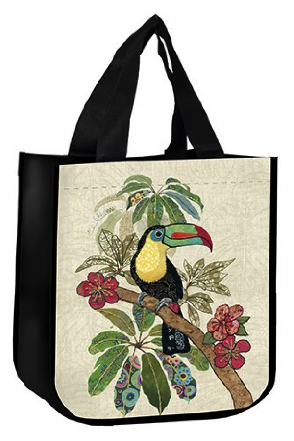 Sac cabas toucan bug art amys Kiub
